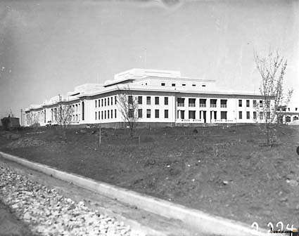 Picture of / about 'Parliament House' the Australian Capital Territory - Old Parliament House almost complete, from north west.
