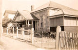 Picture relating to Windsor - titled 'Windsor Maud st house front -  another view 1940's'