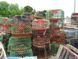 Picture relating to Portland - titled 'Lobster / Cray pots'