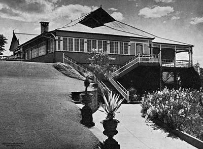Picture of / about 'Brisbane' Queensland - Brisbane residence, 'Montrose', 1932