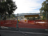 Picture relating to Tharwa - titled 'Tharwa Bridge Closed'