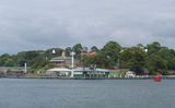 Picture relating to Sydney Harbour - titled 'Goat Island, Sydney Harbour'