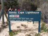Picture of / about 'Sandy Cape Lighthouse' Queensland - Sandy Cape Lighthouse