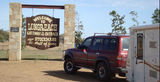 Picture relating to Longreach - titled 'Hall of Fame sign Longreach'