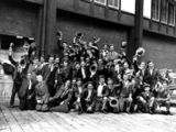 Picture of / about 'Sydney' New South Wales - Welsh immigrants outside the Queensland Tourist Office Sydney, New South Wales, 1926