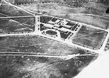Picture relating to Barton - titled 'Hotel Kurrajong, National Circuit, Barton, from the air.'
