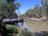Picture relating to Moulamein - titled 'Edwards River, Moulamein,nsw.'