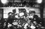 Picture relating to Bowen - titled 'Exhibit of table vegetables by John Edgerton at Bowen, 1905'