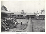 Picture relating to Gatton - titled 'Dormitories and dining hall at Queensland Agricultural College, Gatton, ca. 1913'