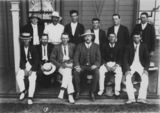 Picture relating to Beaudesert - titled 'Sporting team from the Beaudesert district, ca. 1920'