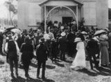 Picture relating to Inglewood - titled 'Official opening of the Inglewood Show, 1914'