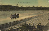 Picture relating to Charters Towers - titled 'Boating on the Weir, Charters Towers, ca. 1905'