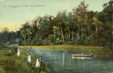 Picture relating to Enoggera - titled 'Fishing and boating parties at Enoggera Creek, Brisbane, ca. 1900'