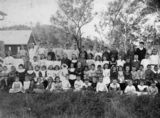Picture relating to Moore - titled 'Students at Moore, Queensland'