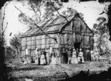 Picture relating to Stanthorpe - titled 'Wedding at Stanthorpe's Presbyterian Church, December 1872'