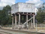 Picture relating to Murphys Creek - titled 'Murphys Creek old railway tank'
