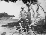 Picture relating to King Island - titled 'Family outing at King Island, 1890-1900'