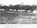 Picture relating to Canberra - titled 'The Minister for Home Affairs and Party at the Surveyors Camp, Canberra, 1913.'