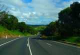 Picture relating to Princes Highway - titled 'Princes Highway southbound just north of Tilba Tilba turnoff'