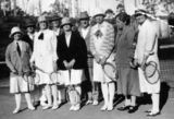Picture relating to Wildes Meadow - titled ' Wildes Meadow: 1931 Tennis Group '