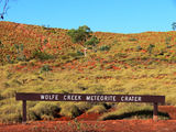 Picture relating to Wolfe Creek Meteorite Crater National Park - titled 'Wolfe Creek Meteorite Crater National Park'