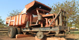 Picture relating to Port Hedland - titled 'Early model iron ore mine truck Port Hedland'
