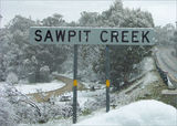 Picture relating to Sawpit Creek - titled 'Sawpit Creek - Kosciuszko National Park'