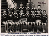 Picture relating to Hendra - titled 'Hendra State School Footbal team 1955'