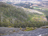 Picture relating to Porongurup National Park - titled 'Looking North/West from Devils Slide'