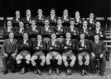 Picture relating to Sydney - titled 'Queensland Rugby League Team, 1935'