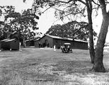 Picture relating to Red Hill - titled 'Red Hill construction camp for sewerage line workers'
