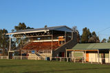 Picture relating to Bothwell - titled 'Grandstand at the Sports Oval'