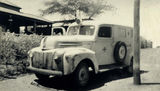 Picture relating to Cloncurry - titled 'Ambulance Car of the Methodist Inland Mission'