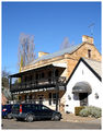 Picture relating to Berrima - titled 'White Horse Inn - Berrima - NSW'