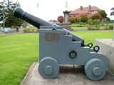 Picture relating to Portland - titled 'The Henty Signal Gun'