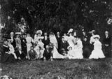 Picture relating to Queensland - titled 'Wedding of Edith Maud Scott and Anders Ludwig Anderssen in 1905'
