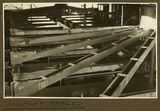 Picture relating to Mount Isa - titled 'Wilfley tables at the mill, Mt. Isa Mines, 1932'