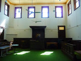 Picture relating to Boorowa - titled 'Inside Boorowa Historic Court House'
