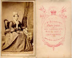 Picture of / about 'Bendigo' Victoria - Sarah Burrows by J.W. BURROWS Photographer of (Sandhurst)  Bendigo