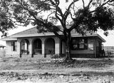 Picture relating to Forrest - titled 'Oakley and Parkes cottage, National Circuit, Forrest.'