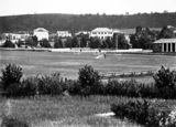 Picture relating to Manuka - titled 'Manuka Oval, Manuka Circle looking towards Red Hill.'