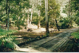 Picture relating to Keppel Creek - titled 'Keppel Creek rest area, Cerebrus Rd bridge'