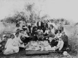 Picture relating to Home Hill - titled 'Picnic party at Home Hill, Queensland, 1900-1910'