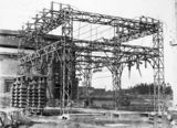 Picture relating to Kingston - titled 'Electricity transmission switch yard at Kingston Power Station'