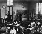Picture relating to Queensland - titled 'Interior view of a classroom, 1910-1920'