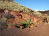 Picture relating to Newman - titled 'Newman region ~ Ochre mine.'