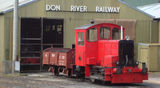 Picture relating to Devonport - titled 'Devonport Don River Railway Locomotive'