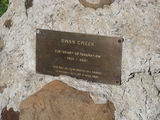 Picture relating to Swan Creek - titled 'Swan Creek Centenary of Federation Plaque'