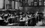 Picture relating to Rockhampton - titled 'Children in class at the Rockhampton Girls Grammar School, ca. 1895'