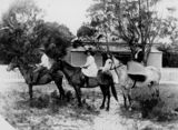 Picture relating to Bulwer - titled 'Horseriding at Bulwer on Moreton Island, Queensland, ca. 1899'